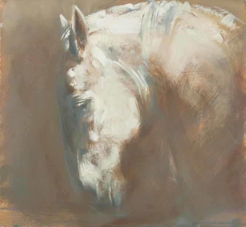 Michelle McCullagh , White Stallion