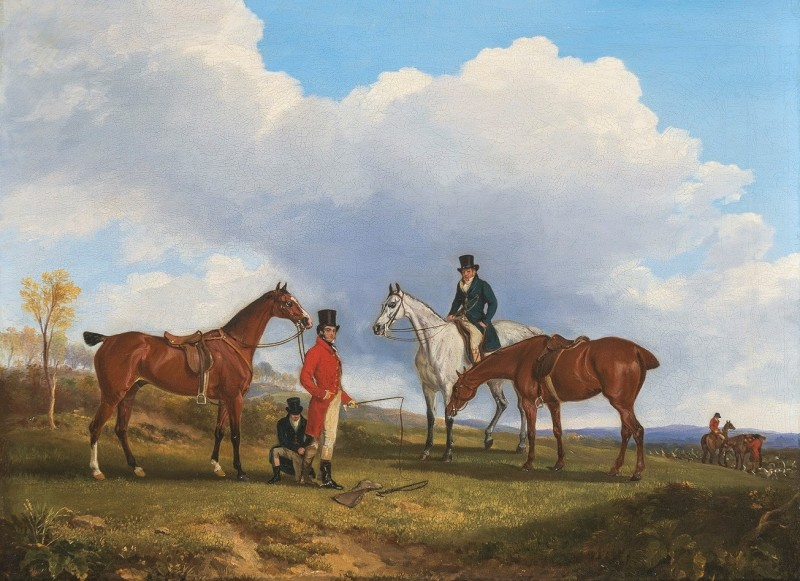 Sir Francis Grant and his favourite hunter
