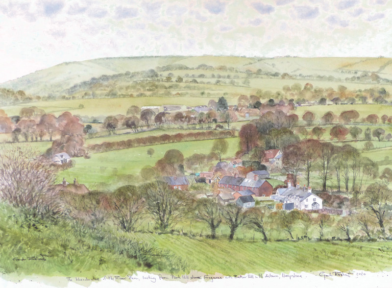 Gordon Rushmer , The Headwaters of the River Meon
