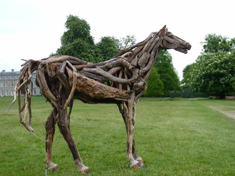 Trudy Redfern , Driftwood horse