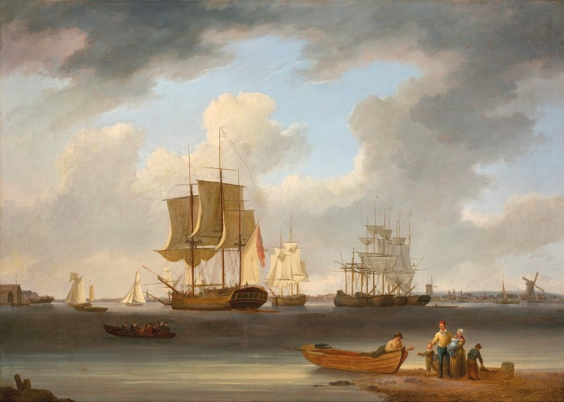 Shipping on the Thames
