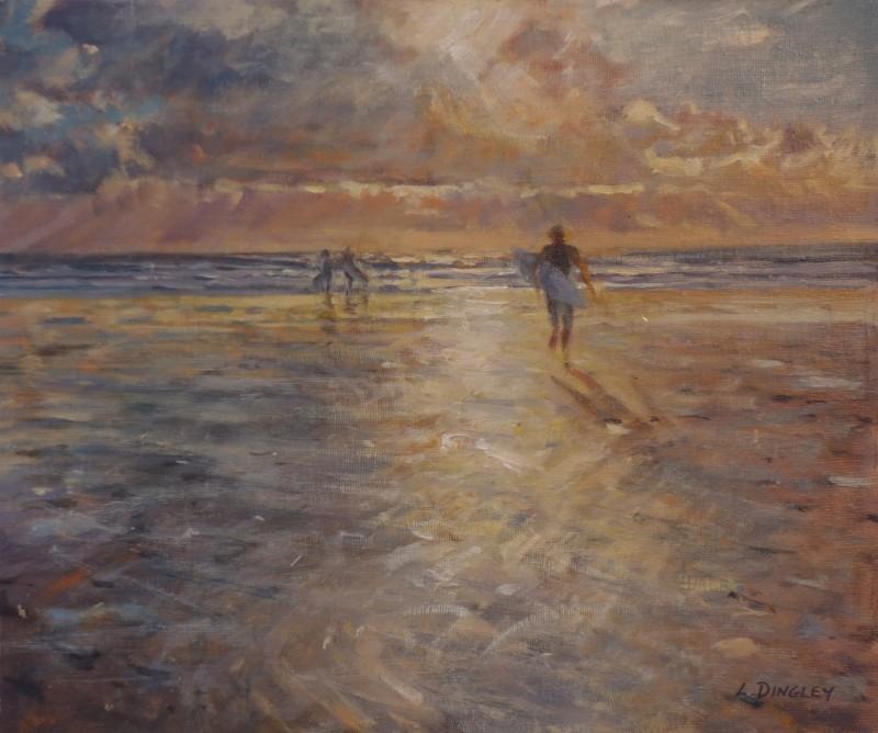 Evening Surf, N. Cornwall