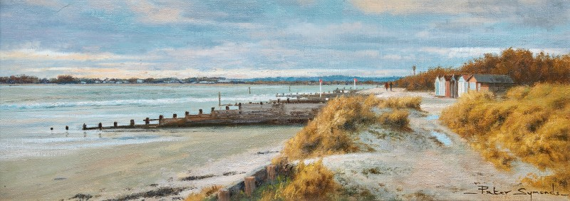 Peter Symonds , Beach huts, West Wittering