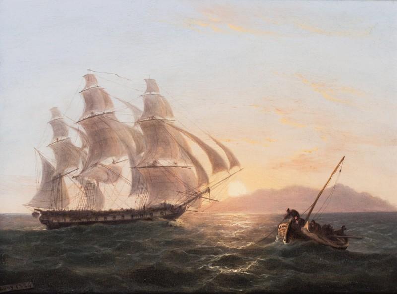 A frigate off Maderia