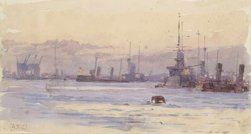 Alma Claude Burton Cull , HMS Revenge and other vessels