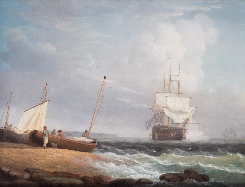 A 2-Decker off the coast