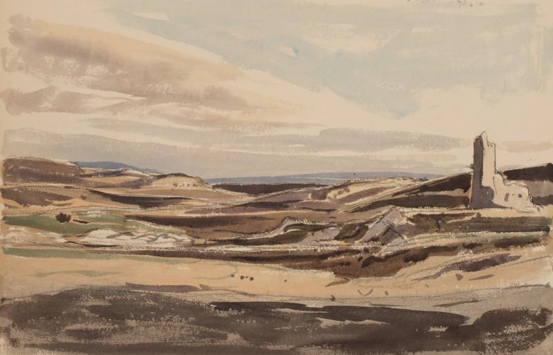 Moorland sketch