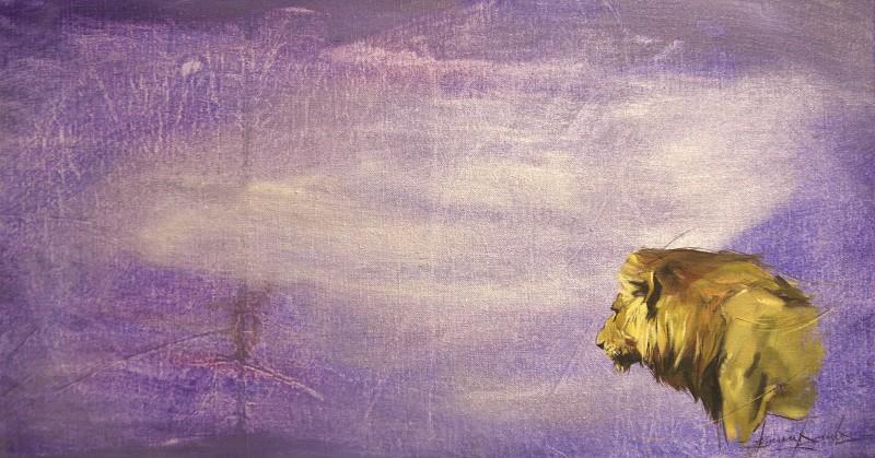 Luangwa Male Lion