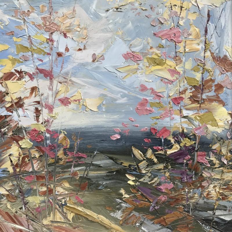 Paul Treasure , Oak wind on the Downs