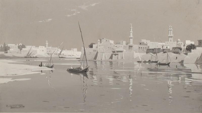 Robert George Talbot Kelly , Zifta & Mit Ghamr, Egypt