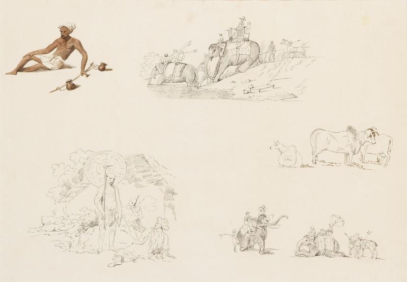 various studies of indian life