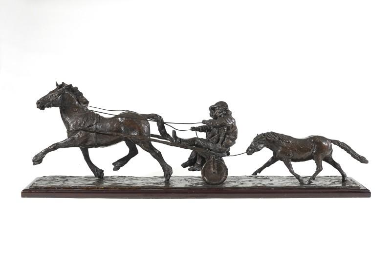Philip Blacker , Horse and trap