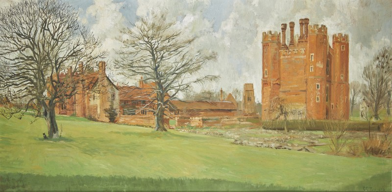 View of Leez Priory, Little Leighs