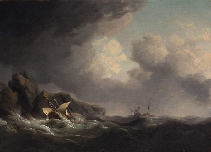 The wreck of the Nuestra Senora off Beachy Head, November 1746