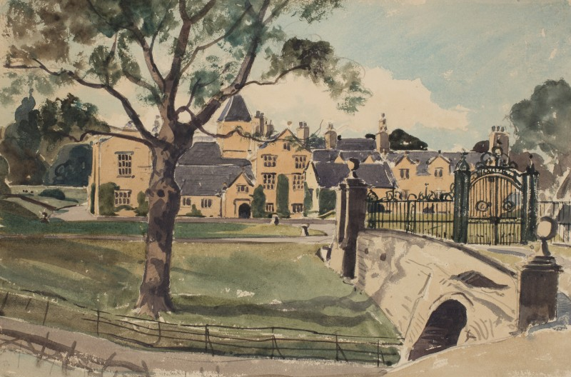 Mostyn Hall, Flintshire, Wales
