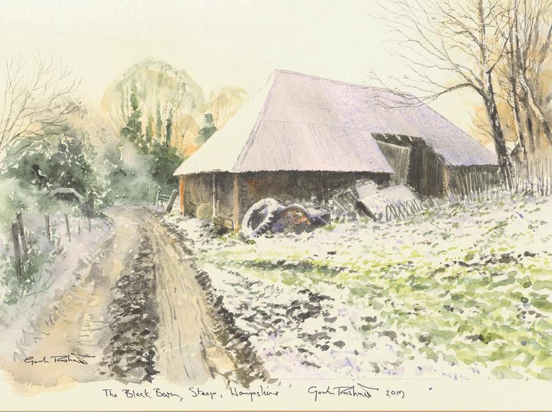 Gordon Rushmer , The Black Barn, Steep