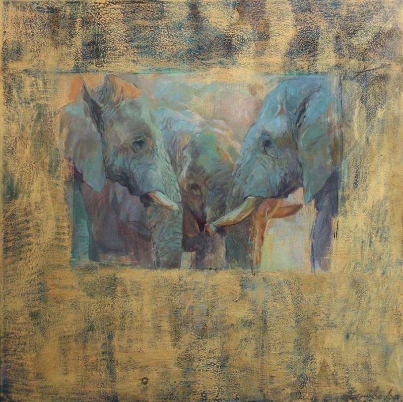 Luangwa elephants