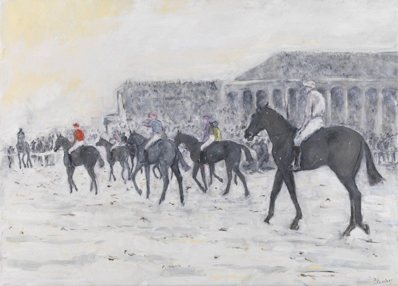 Down at the start for the 1901 Grand National