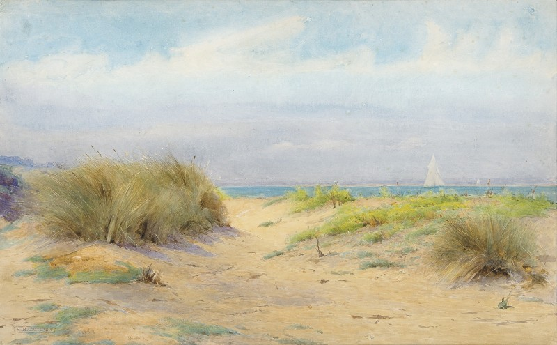 Alma Claude Burton Cull , The coastal path