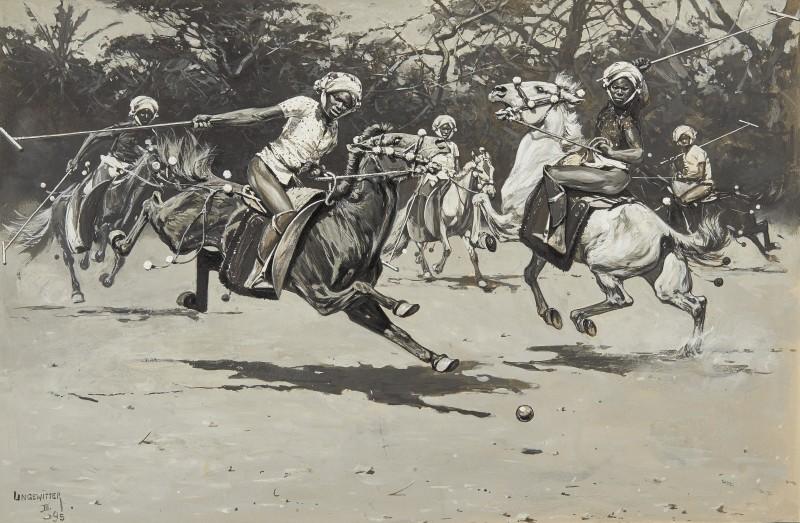 Hugo Ungewitter , Polo match in progress