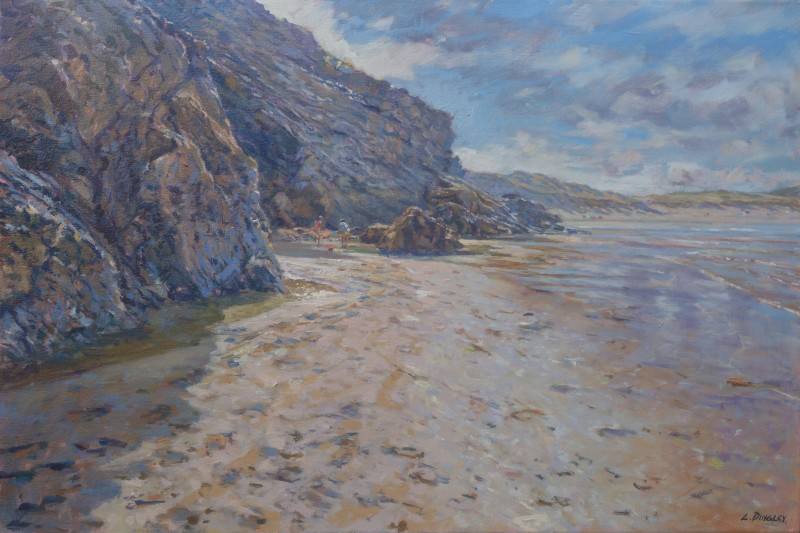 Morning Light, Holywell Bay