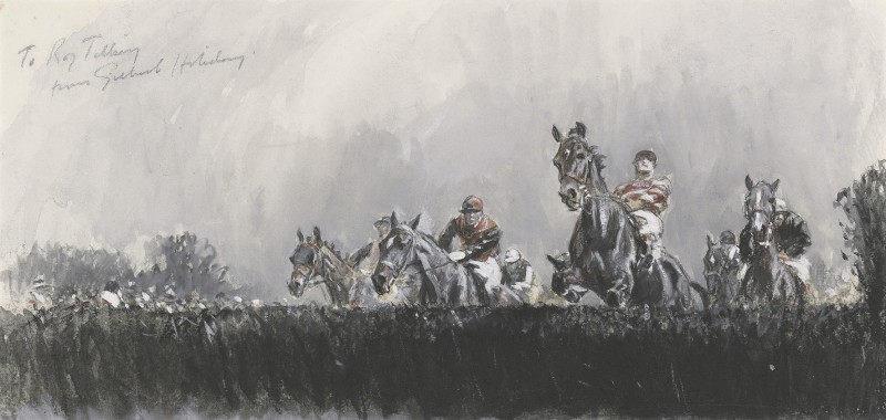 Study for the Grand National