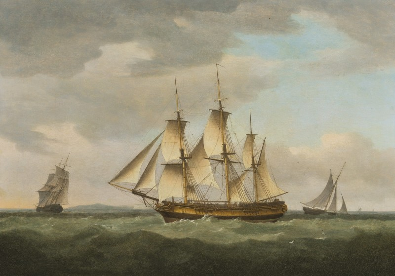 Merchantman in the Channel