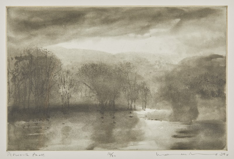 Norman Ackroyd , CBE, RA, Petworth Park