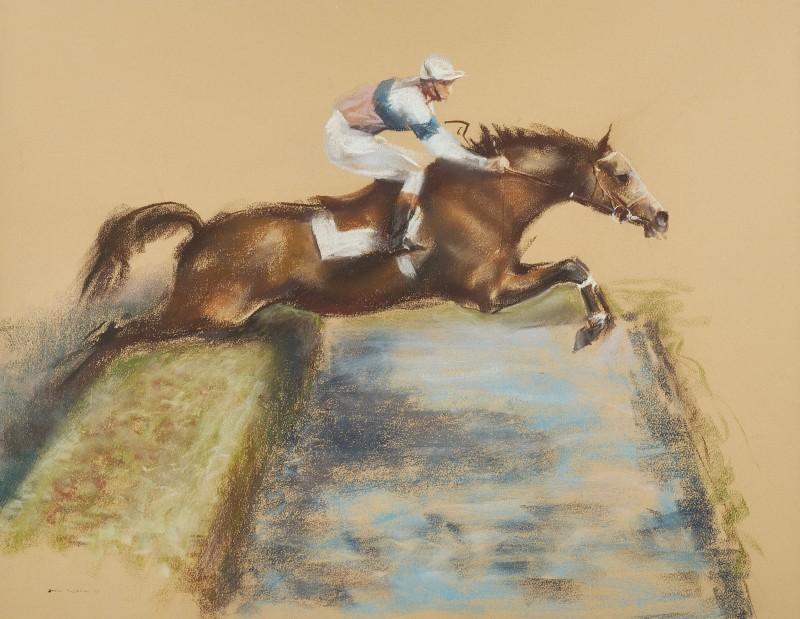 John Rattenbury Skeaping , RA, The water jump