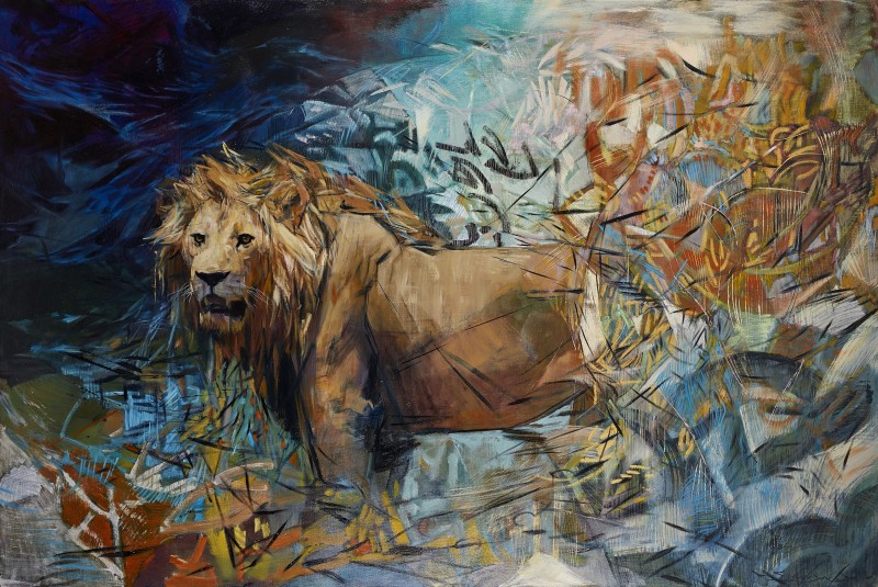 Emily Lamb , Lone Male Lion