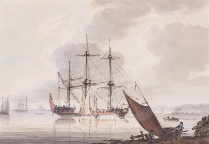 Men-O-War off Portsmouth