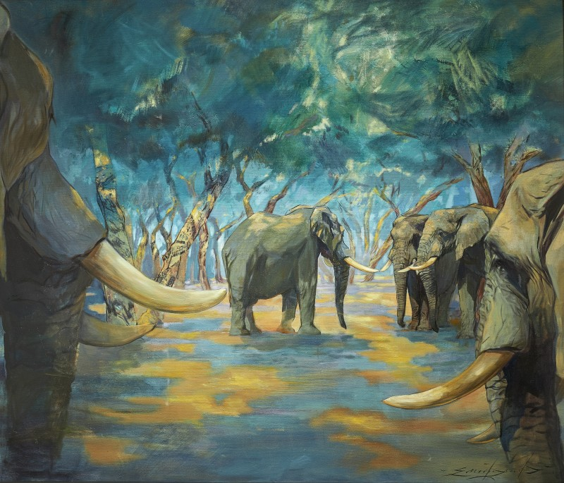 Emily Lamb , Mana Pools, the greeting