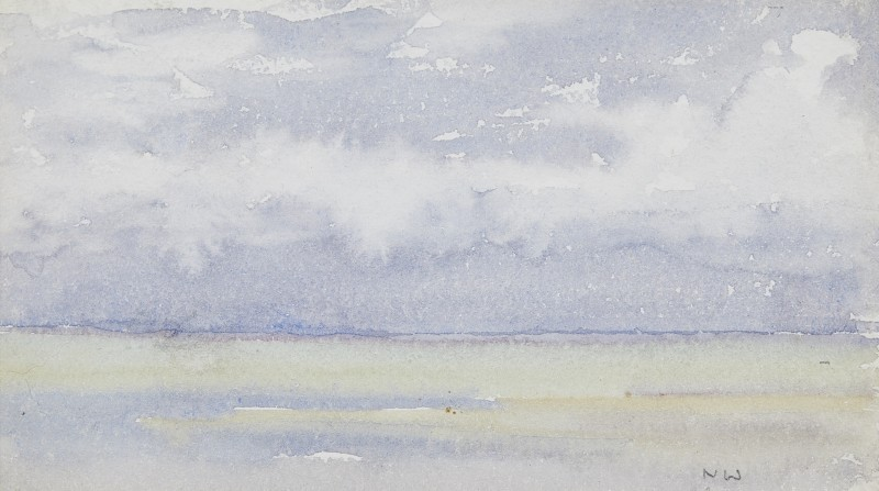 Norman Wilkinson , CBE, SMA, PRWS, RI, Study of the sea