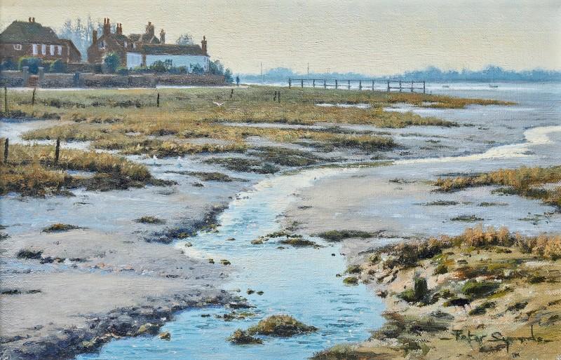 Peter Symonds , Low tide, Bosham