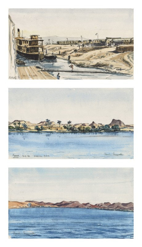 Sketches on the Nile, 1948