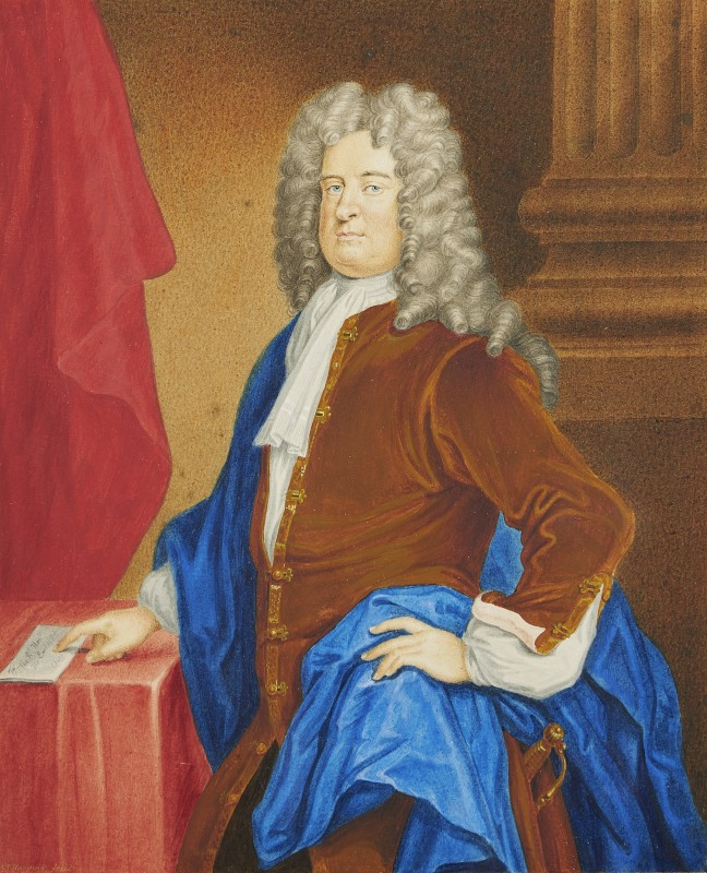 Portrait of Edward Russel, Duke of Orford