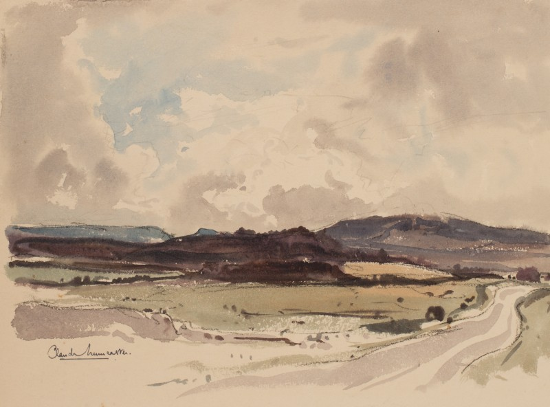 Cloud study, Denbighshire