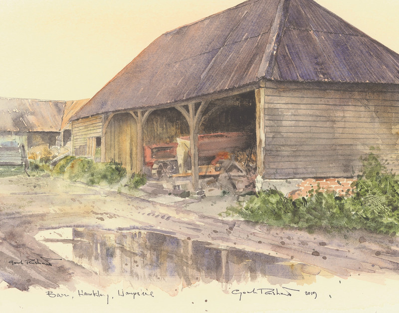 Barn Hawkley