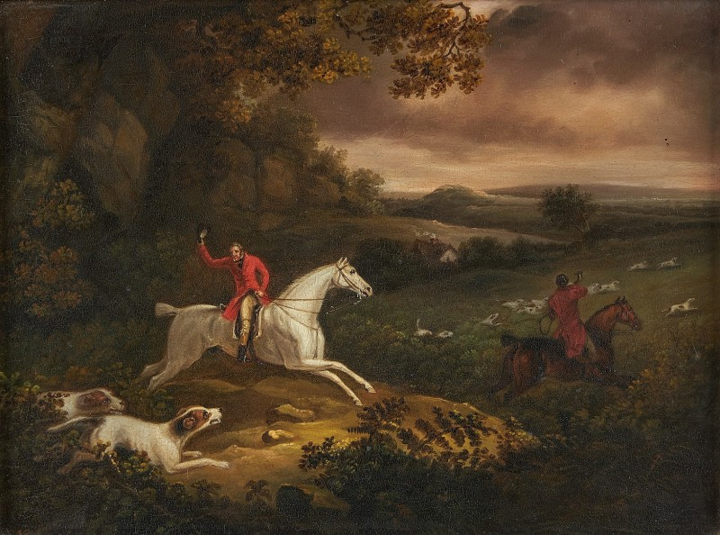 Samuel Raven , A pair of hunting scenes