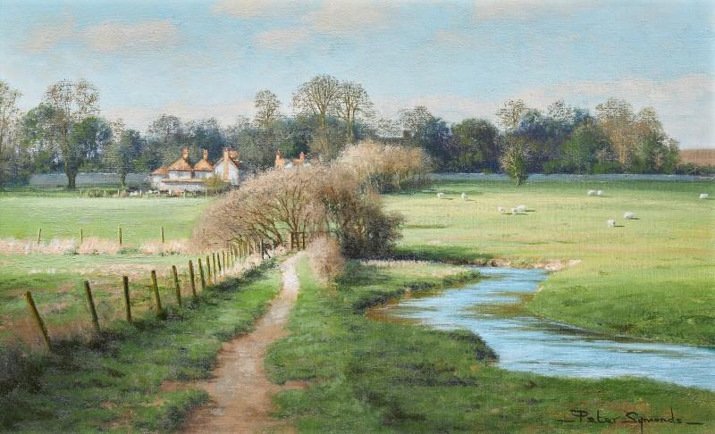 Peter Symonds , River Lavant near West Dean, West Sussex