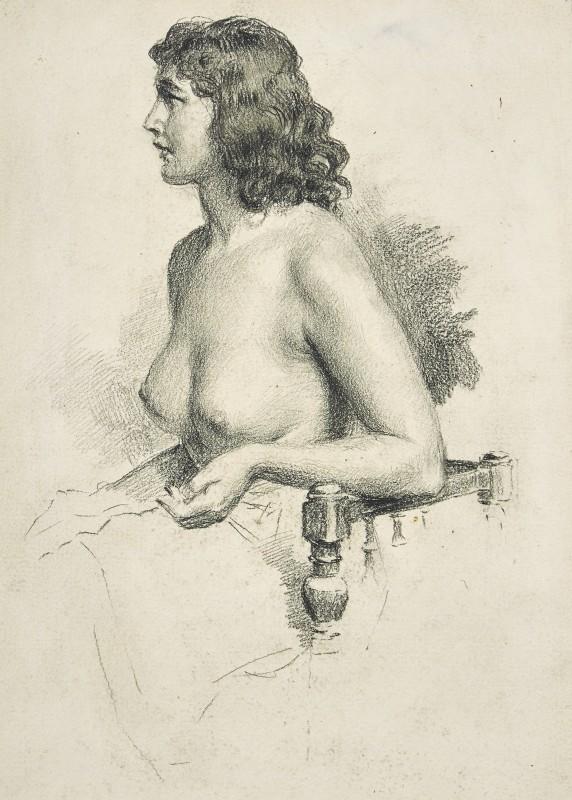 Portrait of Amelia Mantovani, 1928