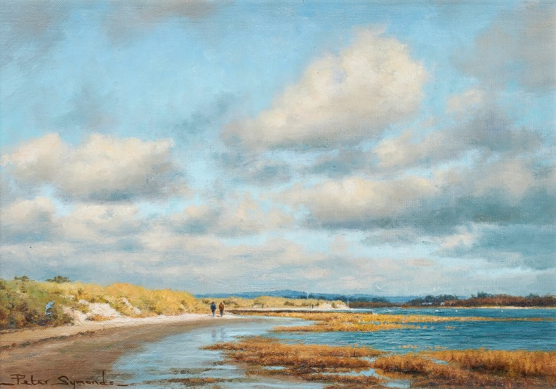 Peter Symonds , A walk to East Head from West Wittering