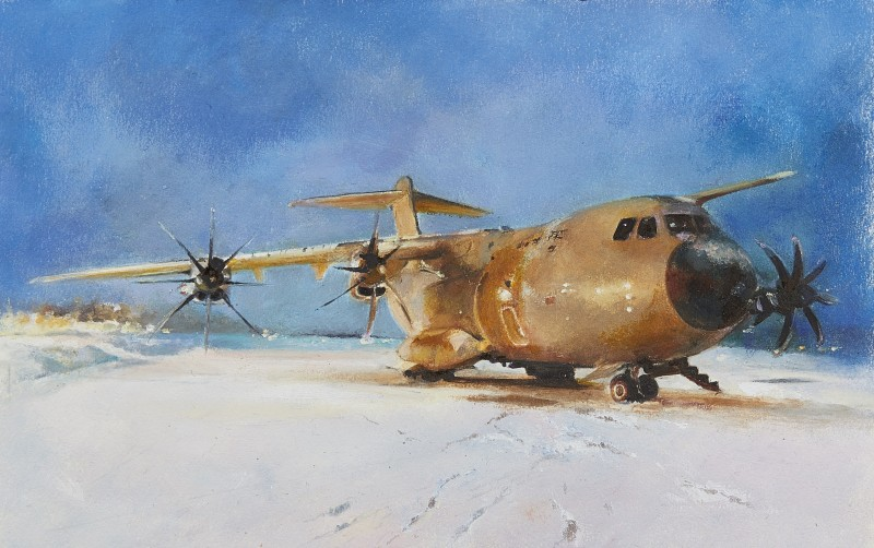 Mandy Shepherd , A400M Aircraft