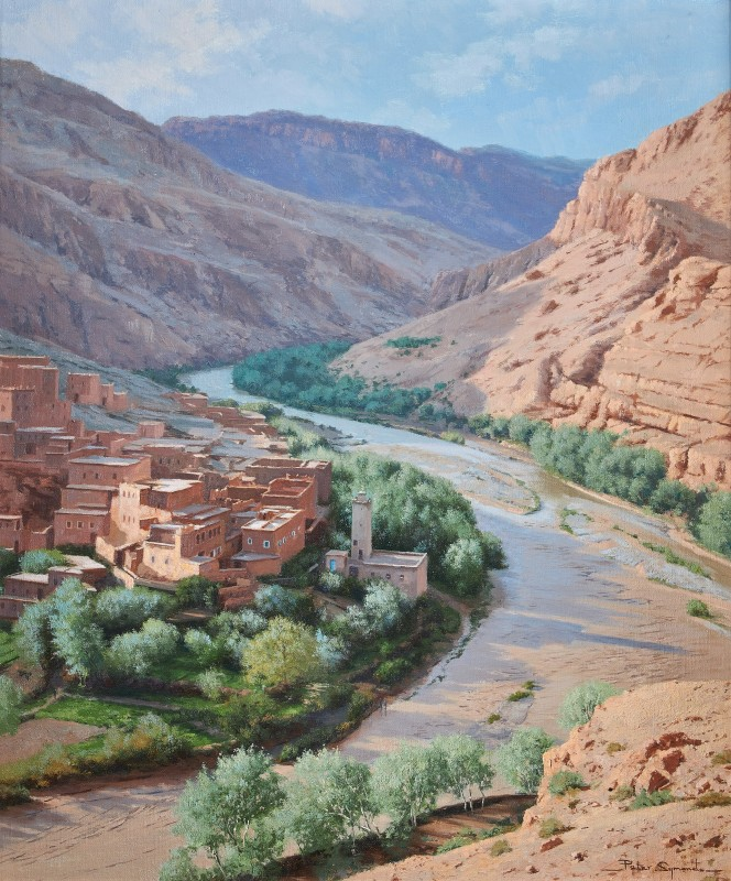 Peter Symonds , Valley of Roses, Central Atlas, Morocco