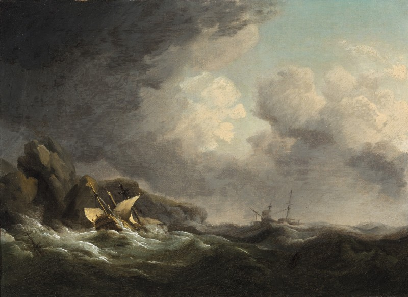 The wreck of the Nuestra Senora off Beachy Head, November 1746