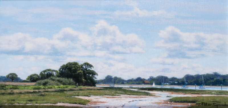 Peter Symonds , July, near Bosham West Sussex