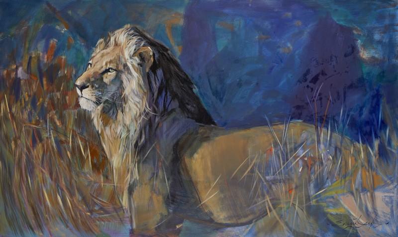 Emily Lamb , Sunlit Lion