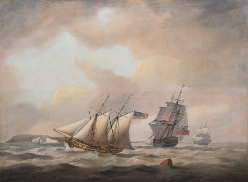 Shipping off the straights of Dover