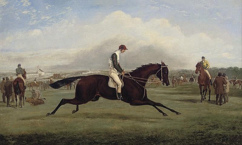 Wild Dayrell, Winner of the Derby, 1855