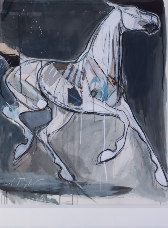 Jo Taylor , Ghost horse